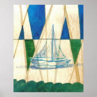CricketDiane Ocean Poster Nomenclature Sailing