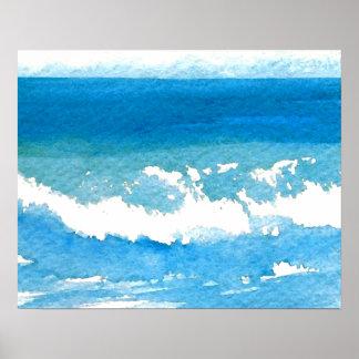 CricketDiane Ocean Poster - Ocean Dance