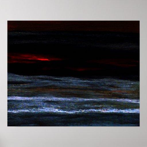 CricketDiane Ocean Poster - Reverie Night 2