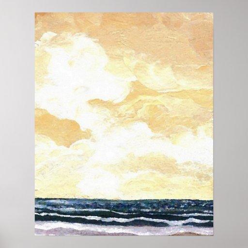 CricketDiane Ocean Poster - Spirit of the Sky