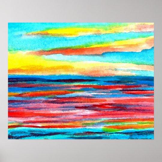 CricketDiane Ocean Poster - Study of Light
