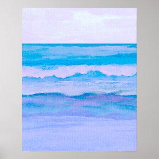 CricketDiane Ocean Poster - Transcendent Sea 2