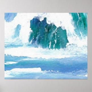 CricketDiane Ocean Poster Wave Song