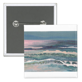CricketDiane Ocean Waves Art Products Pinback Buttons