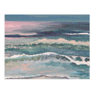 CricketDiane Ocean Waves Art Products Postcard