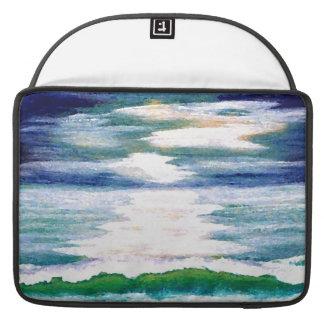 CricketDiane Ocean Waves Mac Sleeve Case