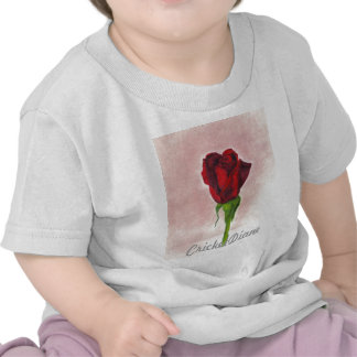 CricketDiane Red Elegant Rose T-shirts