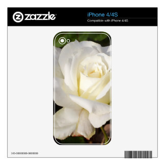 CricketDiane Romantic White Rose Blossom Decal For The iPhone 4S