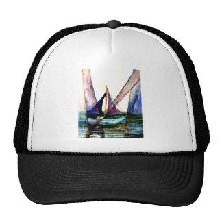 CricketDiane Sailboat Abstract 1 Sailing Trucker Hat
