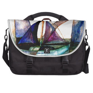 CricketDiane Sailboat Abstract 1 Sailing Commuter Bags