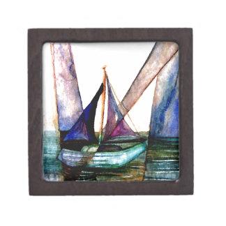 CricketDiane Sailboat Abstract 1 Sailing Premium Gift Box