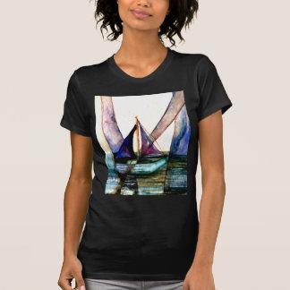 CricketDiane Sailboat Abstract 1 Sailing T-Shirt