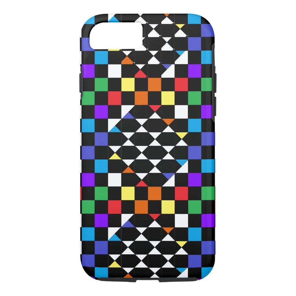 CricketDiane Trend Fashion Rainbow Spectrum Colors iPhone 8/7 Case