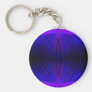 Cricketdiane urbano púrpura del futurismo de la MO Llaveros Personalizados