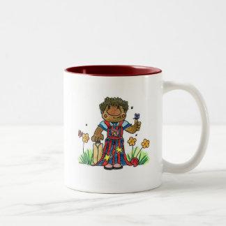 Cricketer Two-Tone Coffee Mug