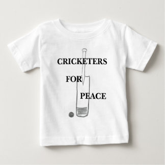 Cricketers For Peace Baby T-Shirt