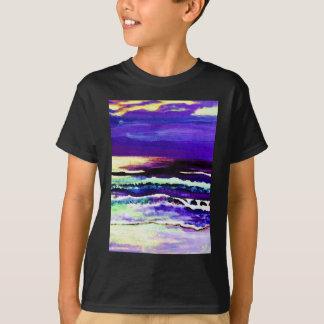 Cricket's Night Ocean Moonlight Ocean Waves T-Shirt