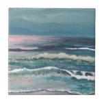 Cricket's Ocean - Beach Seascape Ceramic Tile