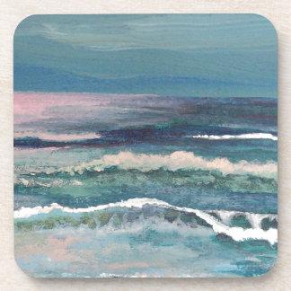 Cricket's Ocean - Beach Seascape Coasters