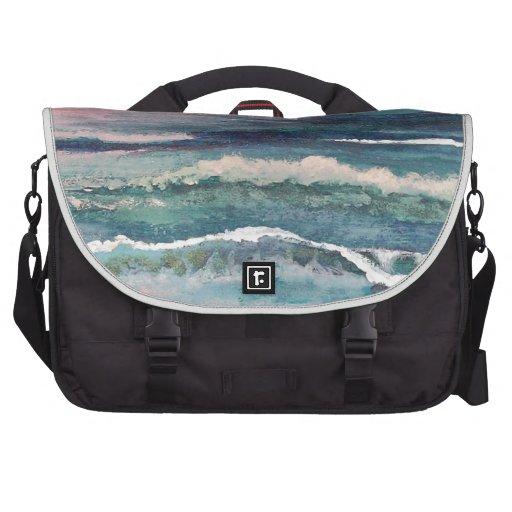 Cricket's Ocean - Beach Seascape Laptop Bag