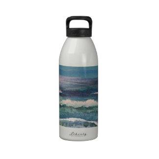 Cricket's Ocean - Beach Seascape Water Bottle