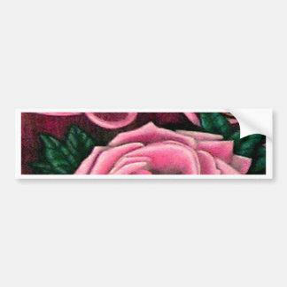Cricket's Roses Designer Products Bumper Sticker