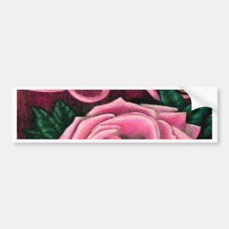 Cricket's Roses Designer Products Bumper Sticker