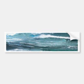Cricket's Sea - CricketDiane Ocean Art Bumper Sticker
