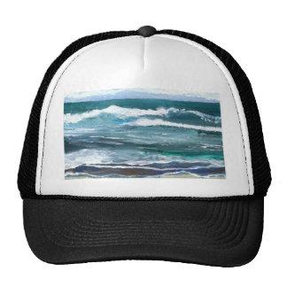Cricket's Sea - CricketDiane Ocean Art Trucker Hat