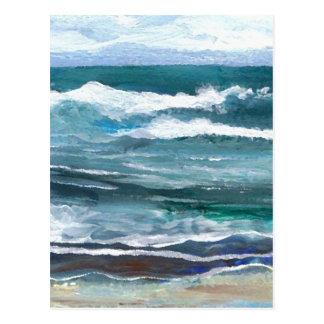Cricket's Sea - CricketDiane Ocean Art Postcard