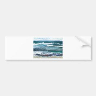 Cricket's Sea - Ocean Waves Beach Gifts Bumper Sticker