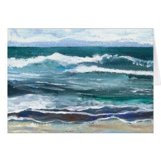Cricket's Sea - Ocean Waves Beach Gifts Card