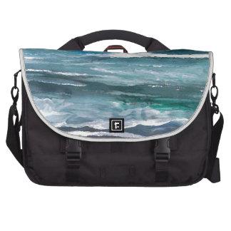 Cricket's Sea - Ocean Waves Beach Gifts Commuter Bags