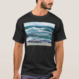 Cricket's Sea - Ocean Waves Beach Gifts T-Shirt