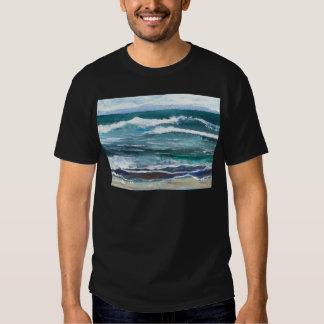Cricket's Sea - Ocean Waves Beach Gifts Tee Shirt
