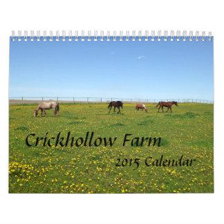 Crickhollow Farm 2015 Calendar