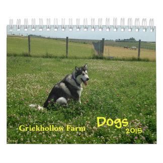 Crickhollow Farm Dogs 2015 Calendar