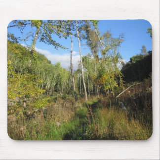 Crieff woodland mouse pad