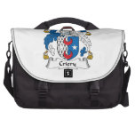 Criery Family Crest Bags For Laptop