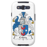 Criery Family Crest Galaxy SIII Cover