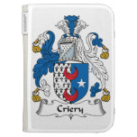 Criery Family Crest Kindle 3 Covers