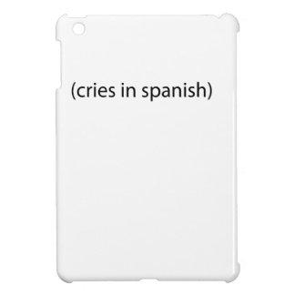 cries in spanish iPad mini covers