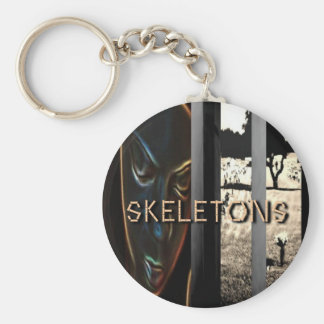 Cries of My Skeletons Keychain