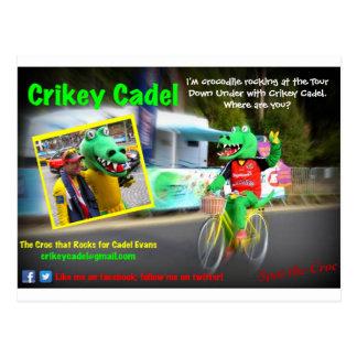 Crikey Cadel - Tour Down Under Postcard