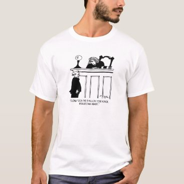 Professional Business Crime Cartoon 3816 T-Shirt