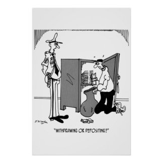 Crime Cartoon 5202 Poster