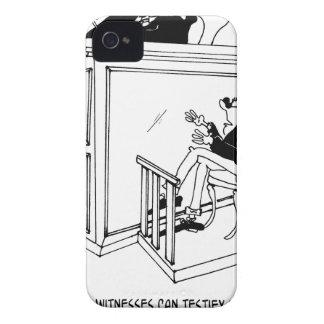 Crime Cartoon 5495 iPhone 4 Case