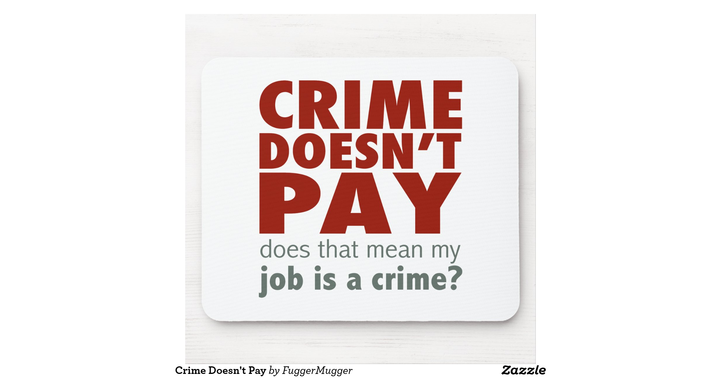 does crime pay essay | Bartleby