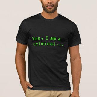 Crime of curiosity T-Shirt
