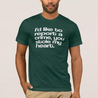 Crime Report T-Shirt